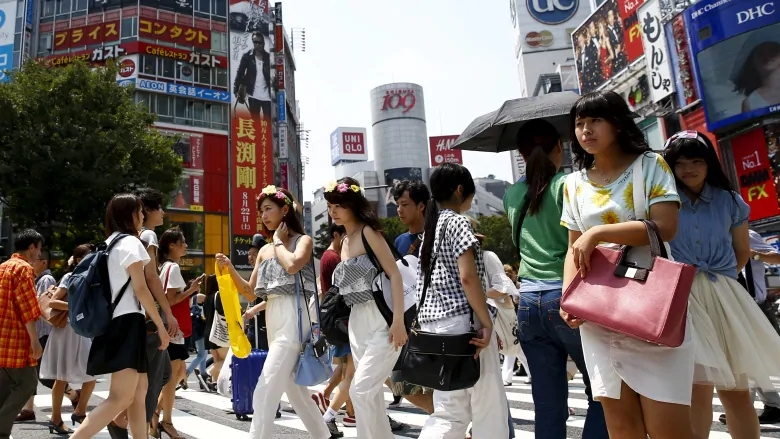 日本への旅